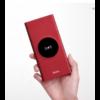 10000 mAh-s Hoco külső akkumulátor wireless töltéssel, Power Bank 2xUSB (J37), piros