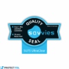 6db-os Savvies SU75 kijelzőfólia, Casio Exilim EX-V8 típusú fényképezőhöz