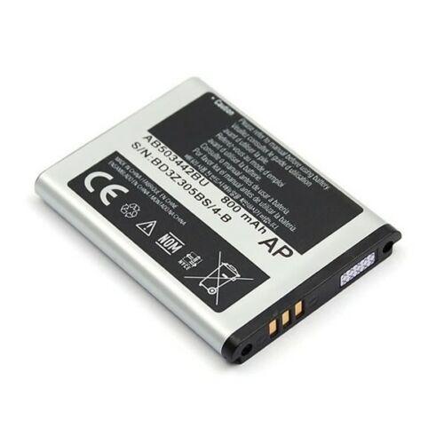 Gyári típusú akkumulátor Samsung E570, J700, T509, B110, E390, Z150 típusú készülékhez, 800 mAh (AB503442BU)