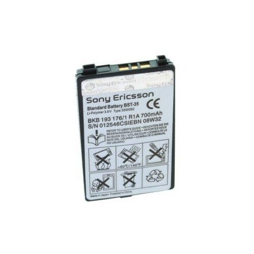 Gyári típusú akkumulátor Sony Ericsson F500, T292a, Z502a, z200i, t290i, Z500, k700 típusú készülékhez, 700 mAh (BST-35)