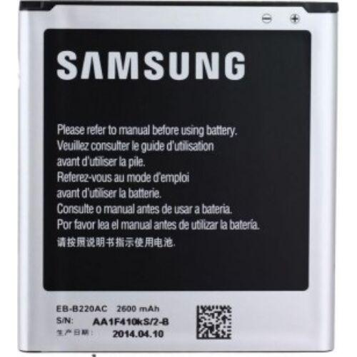 Gyári típusú akkumulátor Samsung Galaxy Grand 2 (G7100) típusú készülékhez, 2600 mAh (EBB220AEB)