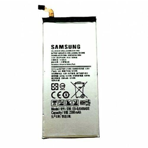 Gyári típusú akkumulátor Samsung Galaxy A5, A5 Duos (A500) típusú készülékhez, 2300 mAh (BA500ABE)