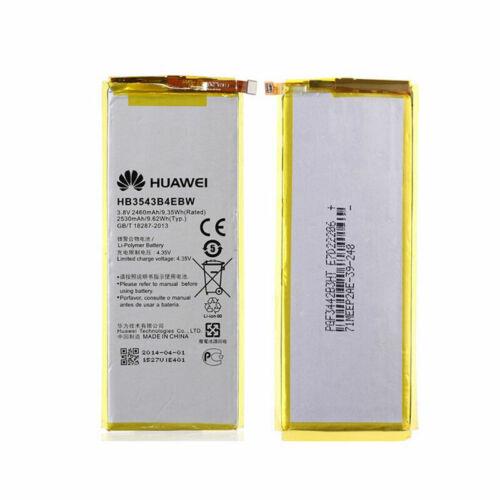 Gyári típusú akkumulátor Huawei Ascend P7 típusú készülékhez, 2460 mAh (HB3543B4EBW)