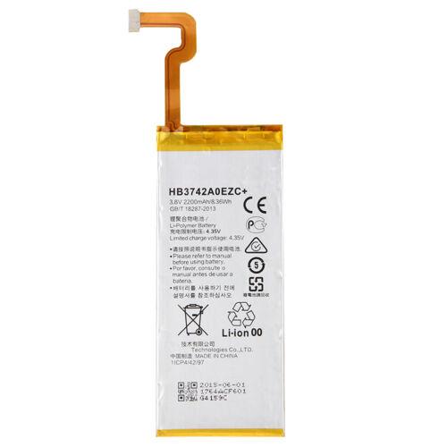 Gyári típusú akkumulátor Huawei P8 Lite típusú készülékhez, 2200 mAh (HB3742A0EZC)
