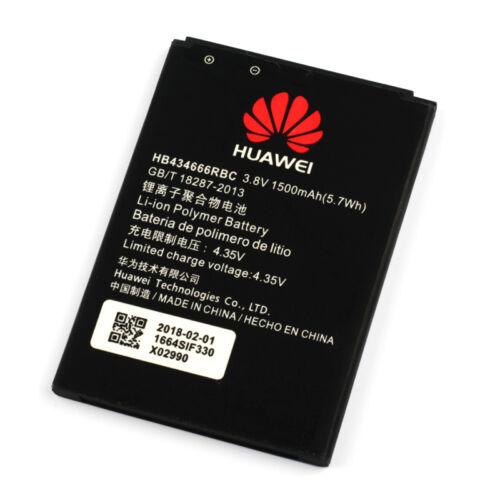 Gyári típusú akkumulátor Huawei Wireless Router E5573, E5577 típusú készülékhez, 1500 mAh (HB434666RBC)