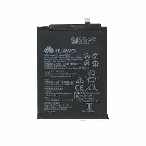 Gyári típusú akkumulátor Huawei Mate 10 Lite (RNE-L01), P30 Lite (MAR-LX1A) típusú készülékhez, 3340 mAh (HB356687ECW)
