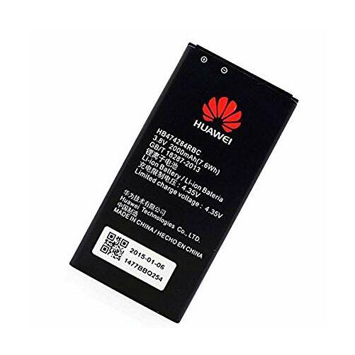 Gyári típusú akkumulátor Huawei Ascend Y550, Y5, Y560, Y625, Y635, G620 típusú készülékhez, 2000 mAh (HB474284RBC)