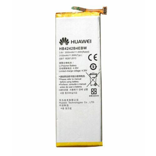 Gyári típusú akkumulátor Huawei Honor 4X, Honor 6 típusú készülékhez, 3000 mAh (HB4242B4EBW)