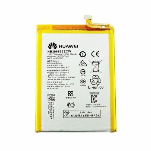 Gyári típusú akkumulátor Huawei Mate 8 típusú készülékhez, 3900 mAh (HB396693ECW)