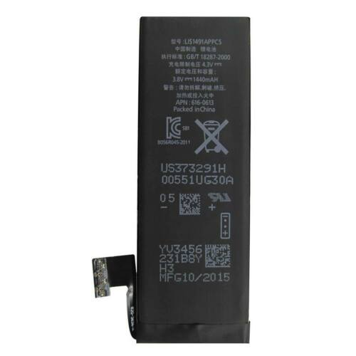 Gyári típusú akkumulátor Apple iPhone 5 típusú készülékhez, 1440 mAh, (616-0613, 616-0610)