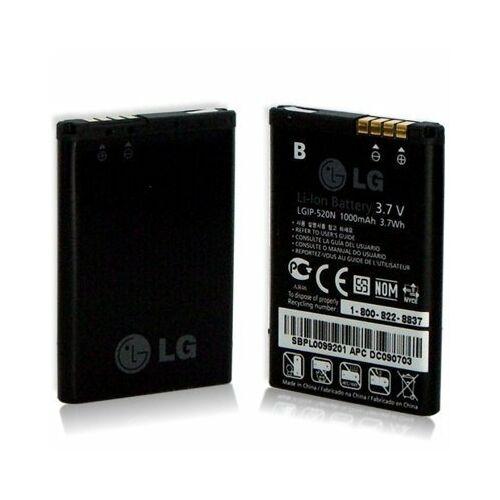 Gyári típusú akkumulátor LG GD900, BL40 típusú készülékhez, 1000 mAh (LGIP-520N)