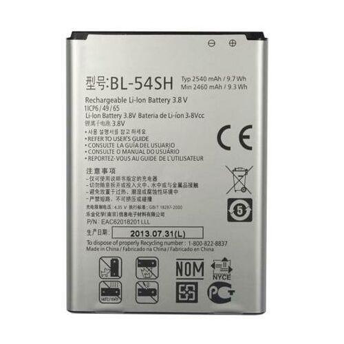 Gyári típusú akkumulátor LG G3 Mini, G3 S (D722), L80 (D380), L90 (D405N), Bello típusú készülékhez, 2460 mAh (BL-54SH)