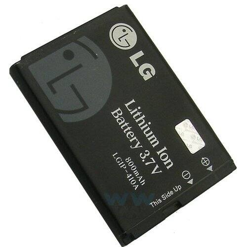 Gyári típusú akkumulátor LG KF510 típusú készülékhez, 750 mAh (LGIP-410A, LGIP-411A)