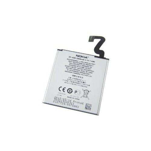 Gyári típusú akkumulátor Nokia Lumia 625, 720, 920 típusú készülékhez, 2000 mAh (BP-4GW)