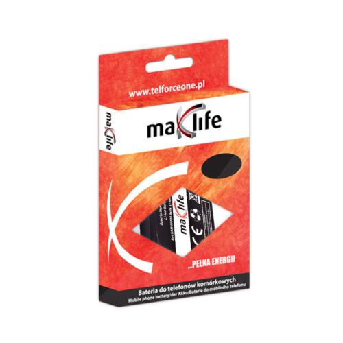 Maxlife utángyártott akkumulátor Siemens C55, A55, M55 típusú készülékhez, 1250 mAh
