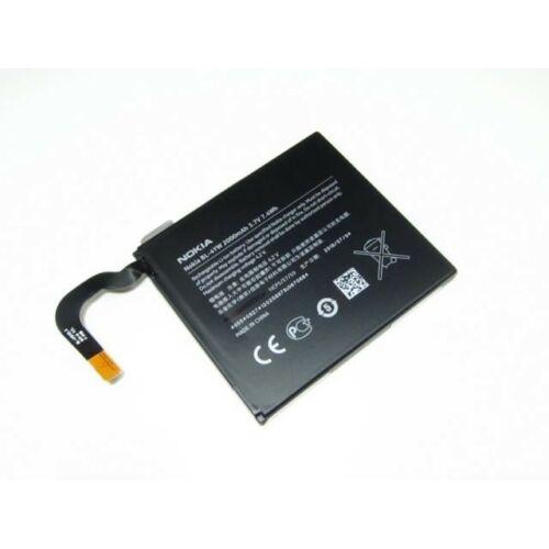 Gyári típusú akkumulátor Nokia Lumia 925 típusú készülékhez, 2000 mAh (BL-4YW)