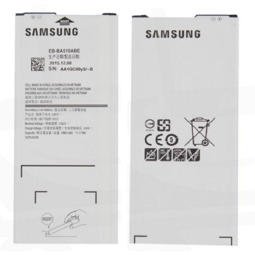 Gyári típusú akkumulátor Samsung Galaxy A5 (2016), (A510) típusú készülékhez, 2900 mAh (EBBA510ABE)