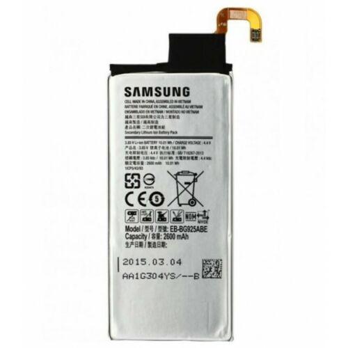 Gyári típusú akkumulátor Samsung Galaxy S6 Edge (G925) típusú készülékhez 2600 mAh (EBBG925ABE)