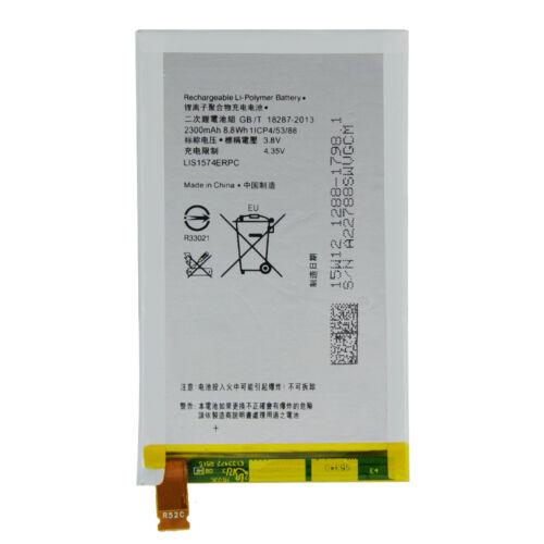 Gyári típusú akkumulátor Sony Xperia E4, E4 Dual (E2104, E2105, E2115) típusú készülékhez, 2300 mAh (1288-1798, LIS1574ERPC)