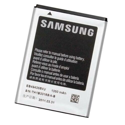 Gyári típusú akkumulátor Samsung Galaxy Ace (S5830), Gio (S5660) típusú készülékhez, 1350 mAh (EB494358VU)