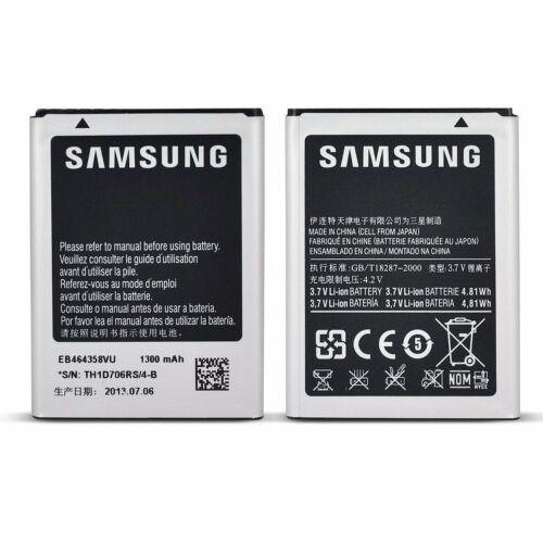 Gyári típusú akkumulátor Samsung Galaxy Mini 2 (S6500), Y Duos (S6102), Ace Plus (S7500) típusú készülékhez, 1300 mAh (EB464358VU)