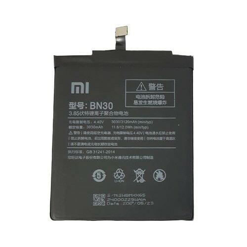 Gyári típusú akkumulátor Xiaomi Redmi 4A típusú készülékhez, 3030 mAh (BN30)