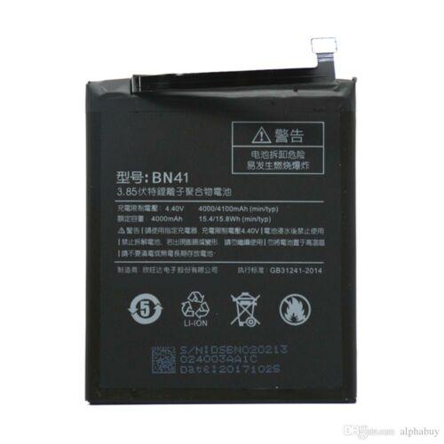Gyári típusú akkumulátor Xiaomi Redmi Note 4 típusú készülékhez, 4100 mAh (BN41)