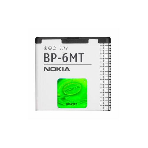 Gyári típusú akkumulátor Nokia 6110, 6500, E51 típusú készülékhez, 1050 mAh (BP-6MT)