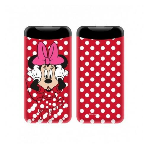 Disney Power Bank, külső akkumulátor 6000 mAh-s, Minnie Mouse