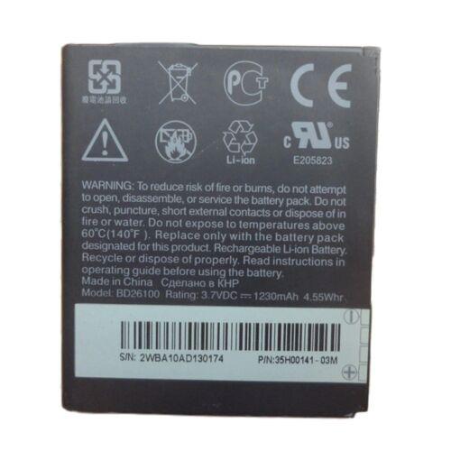Gyári típusú akkumulátor HTC Desire HD, G10 típusú készülékhez, 1230 mAh (BD26100)