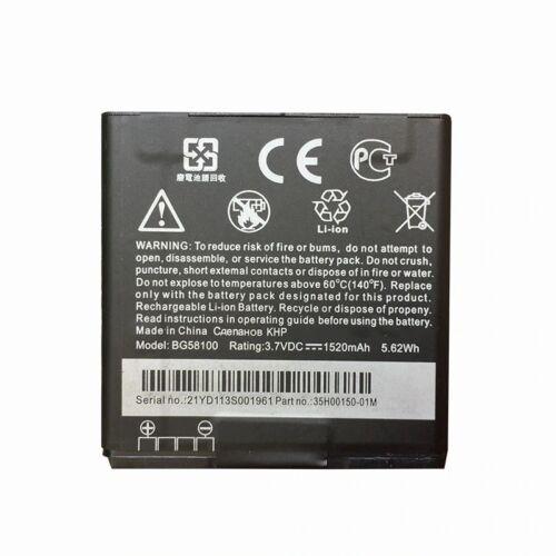 Gyári típusú akkumulátor HTC Desire U, V, X típusú készülékhez, 1520 mAh (BG58100)