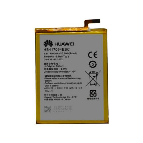 Gyári típusú akkumulátor Huawei Mate 7 típusú készülékhez, 4000 mAh (HB417094EBC)