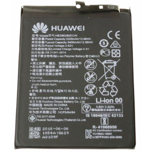 Gyári típusú akkumulátor Huawei P20 típusú készülékhez, 3320 mAh (HB396285ECW)