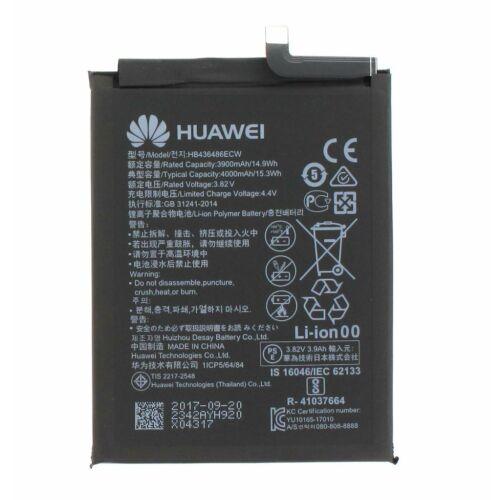 Gyári típusú akkumulátor Huawei P20 Pro, Mate 10, Mate 10 Pro típusú készülékhez, 4000 mAh (HB436486ECW)