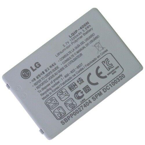 Gyári típusú akkumulátor LG LS670, GT540 típusú készülékhez, 1500 mAh (LGIP-400N)