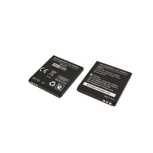 Gyári típusú akkumulátor Maxcom MM818 típusú készülékhez, 750mAh (BW-46)