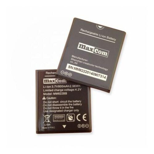 Gyári típusú akkumulátor Maxcom MM822BB típusú készülékhez, 800mAh