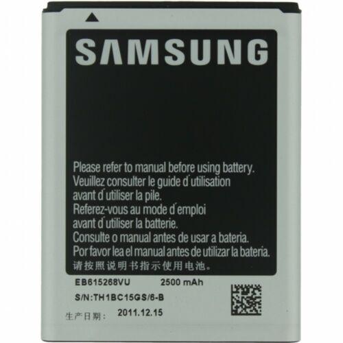 Gyári típusú akkumulátor Samsung Galaxy Note, (N7000) típusú készülékhez, 2500 mAh (EB615268VU)