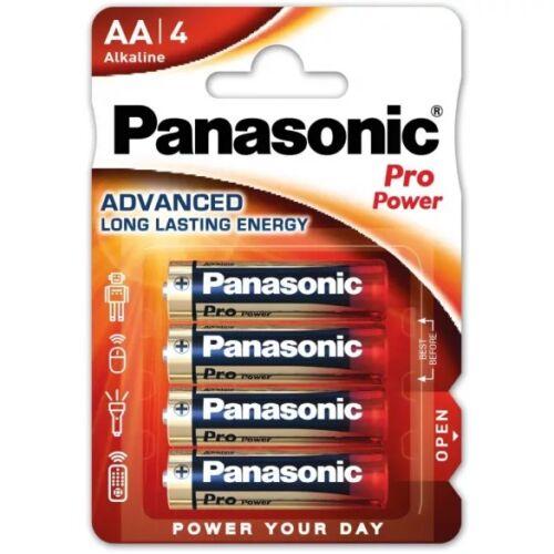 Panasonic Pro Power alkáli tartós ceruza elem 1,5V AA (4 darabos)