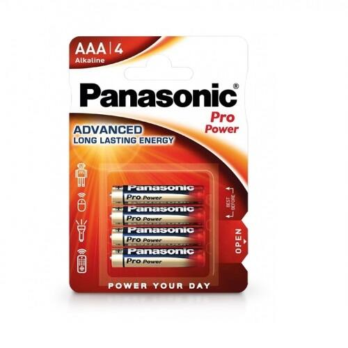 Panasonic Pro Power alkáli tartós ceruza elem 1,5V AAA (4 darabos)