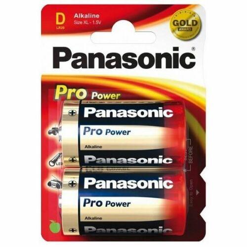 Panasonic Pro Power alkáli tartós Góliát elem 1,5V D2 - LR20 (2 darabos)