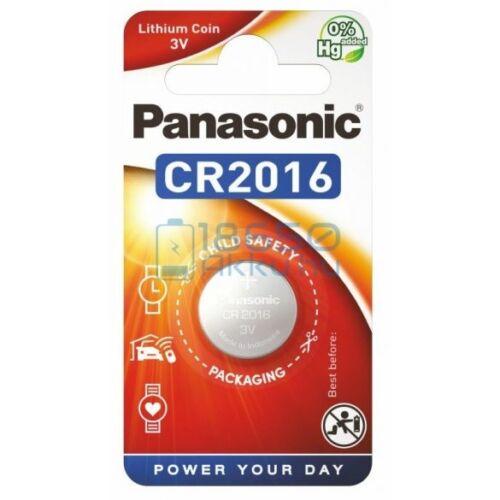 Panasonic Pro Power alkáli tartós gombelem 3V CR2016 (1 darabos)