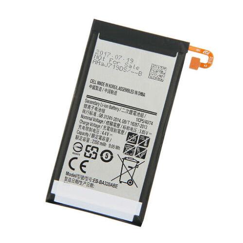 Gyári típusú akkumulátor Samsung Galaxy A3 (2017), (A320) típusú készülékhez, 2350 mAh (EB-BA320ABE)