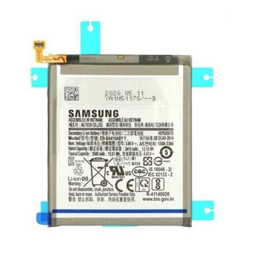 Gyári, eredeti akkumulátor Samsung Galaxy A41 (A415) típusú készülékhez, 3410 mAh (EB-BA515ABY)