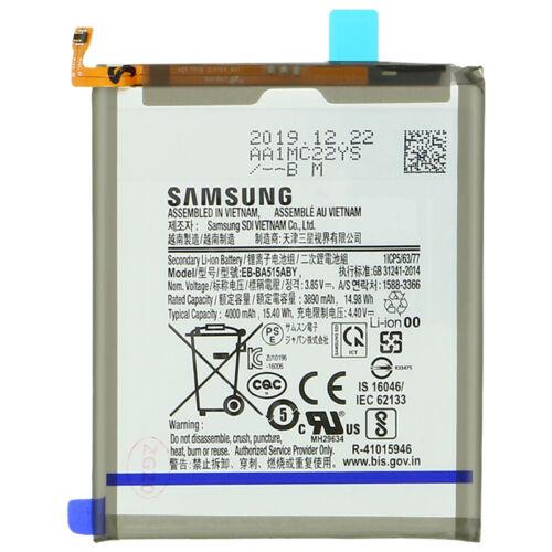 Gyári, eredeti akkumulátor Samsung Galaxy A51 (A515) típusú készülékhez, 3890 mAh (EB-BA515ABY)
