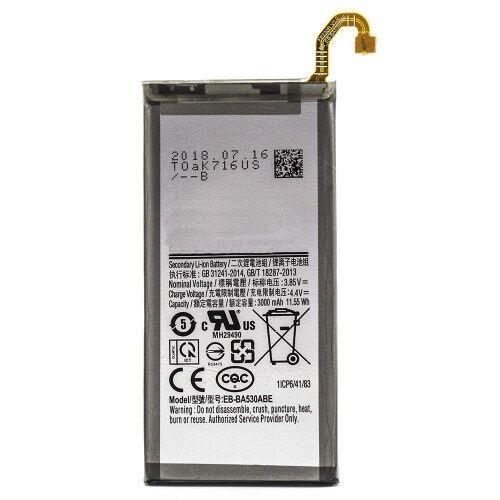 Gyári típusú akkumulátor Samsung Galaxy A8 (2018), (A530) típusú készülékhez, 3000 mAh (EB-BA530ABE)