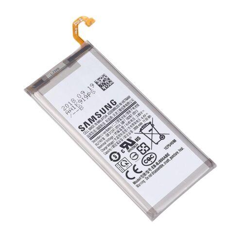 Gyári típusú akkumulátor Samsung Galaxy J6 (2018), (J600), A6 (2018) (A600) típusú készülékhez, 3000 mAh (EB-BJ800ABE)