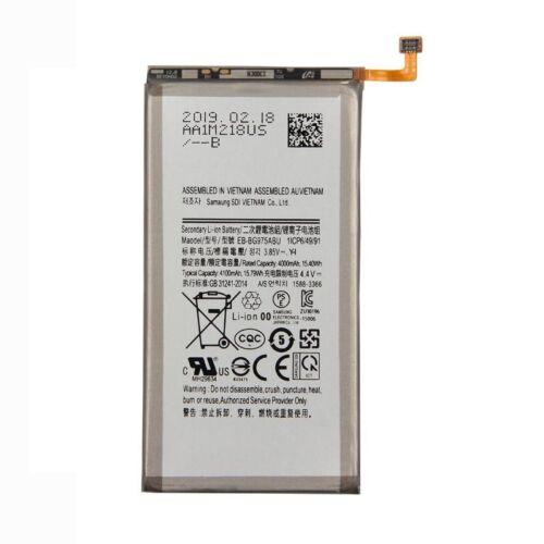 Gyári típusú akkumulátor Samsung Galaxy S10 Plus (G975) típusú készülékhez, 4100 mAh (EB-BG975ABU)