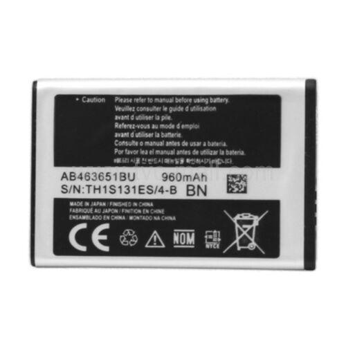 Gyári típusú akkumulátor Samsung B3410, S5620, Corby, S3650, Star 2, S5260, Monte típusú készülékhez, 960 mAh (AB463651BU)