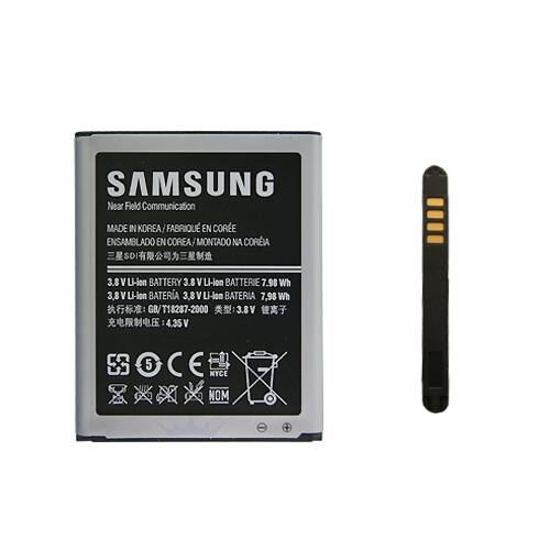 Gyári típusú akkumulátor Samsung Galaxy S3 (i9300, i9305), Galaxy Grand (i9080, i9082) típusú készülékhez, 2100 mAh (EBL1G6LLU, EBL1G6LLK, EB535163LU)